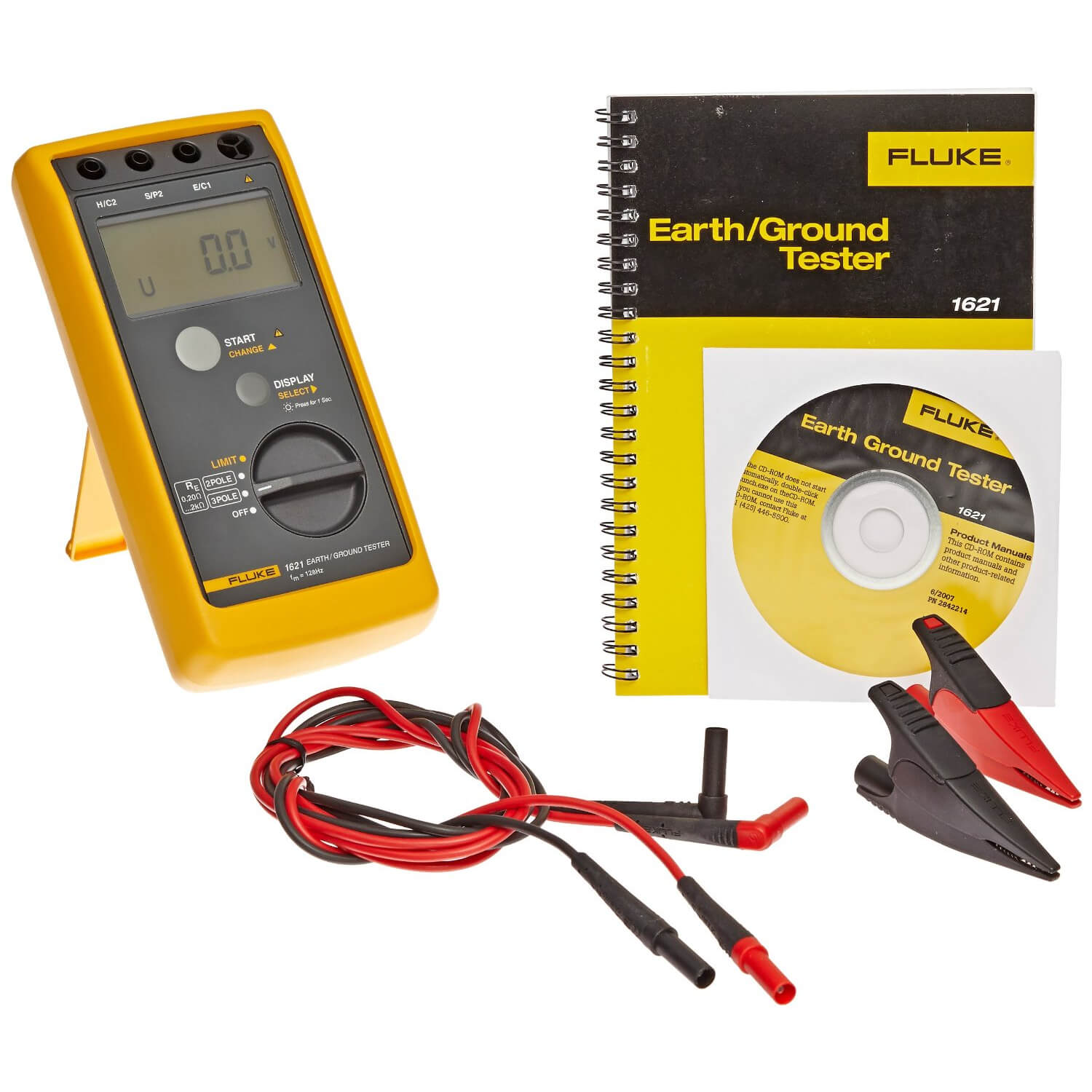 Ground Impedance Tester : Fluke basic earth ground tester