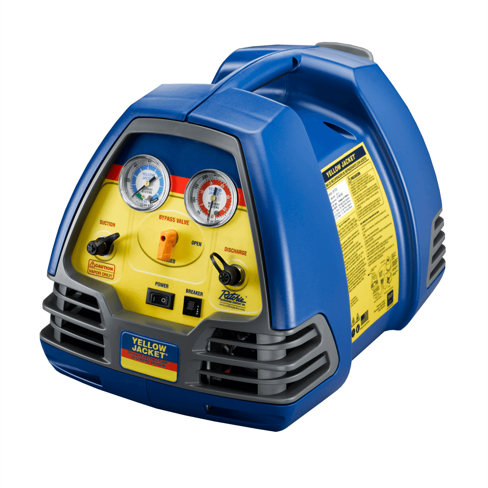 Yellow Jacket 95700 Recoverx Refrigerant Recovery Machine