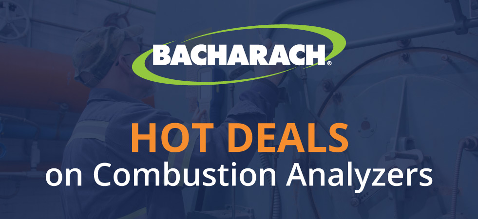 Bacharach Combustion Analyzers Promotion 2020