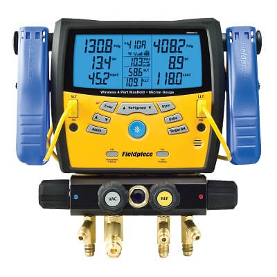Fieldpiece Digital AC Manifold Gauge Set