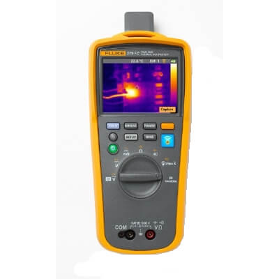 Fluke Meters with Infrared Thermal Imaging