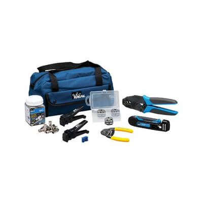 Ideal Industries Network Cable Tool Kits