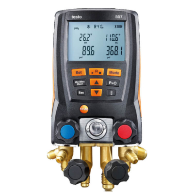 Testo AC Digital Manifold Gauge Set