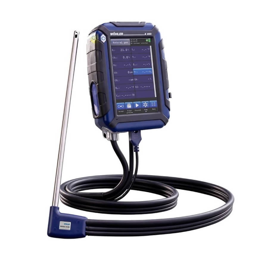 Wohler Combustion Analyzers