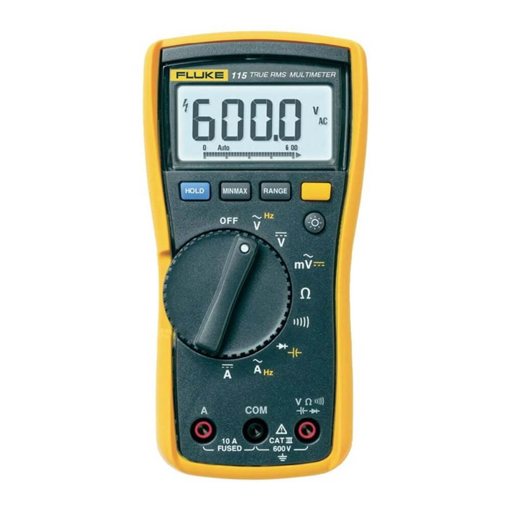 Fluke 115 TRMS Compact Digital Multimeter