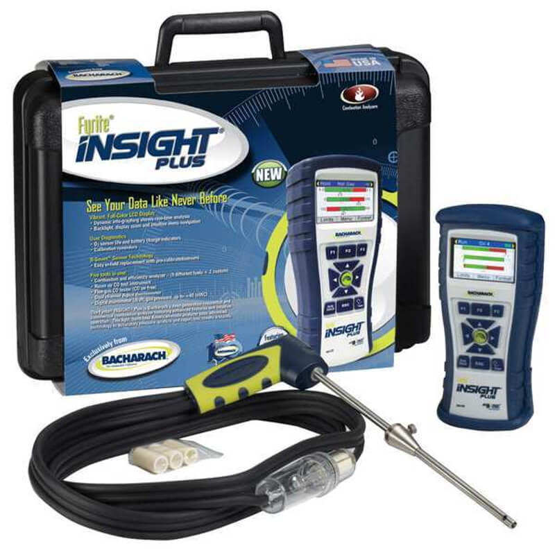 Bacharach 24-8517 Fyrite Insight Plus Combustion Analyzer Basic Kit LL [Free 2nd Day Shipping]