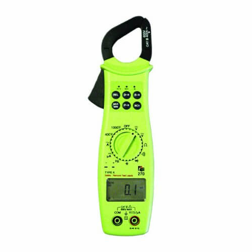 TPI 270 400A Digital AC Clamp-on MultiMeter