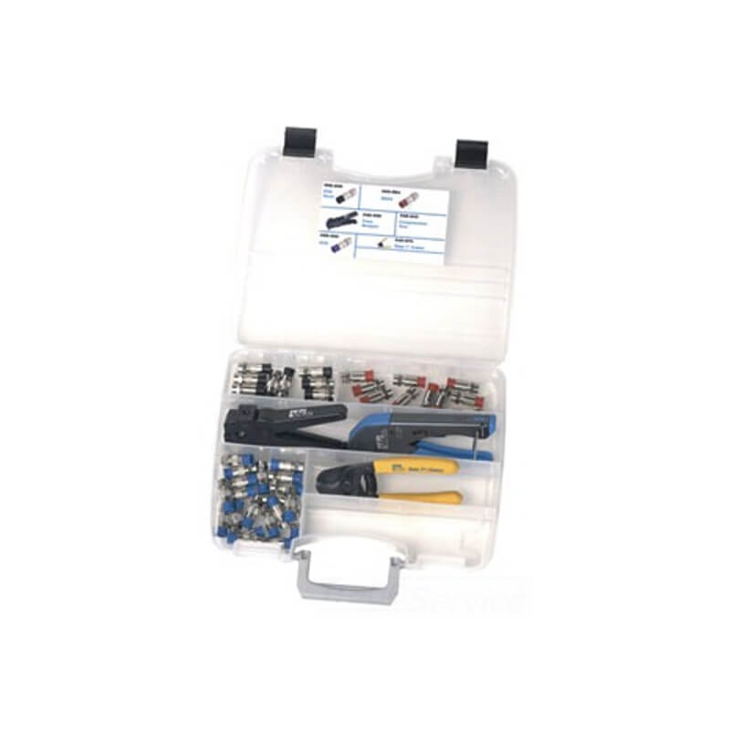 Ideal 33-620 Coax Cable Compression and Termination Set