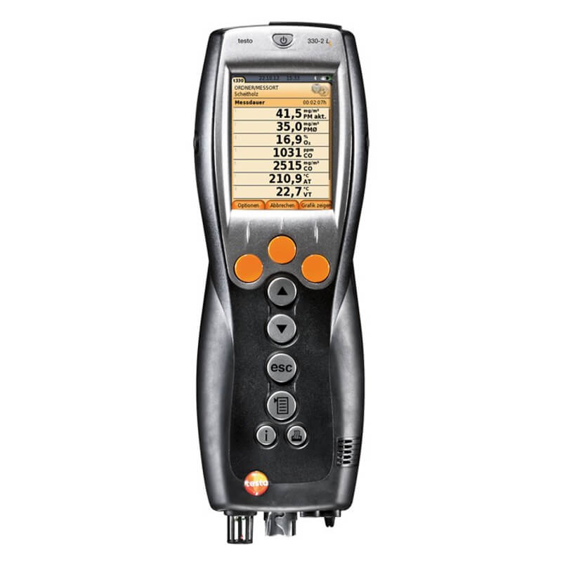 Testo 330-1G LL Kit 2 Commercial Combustion Analyzer Kit