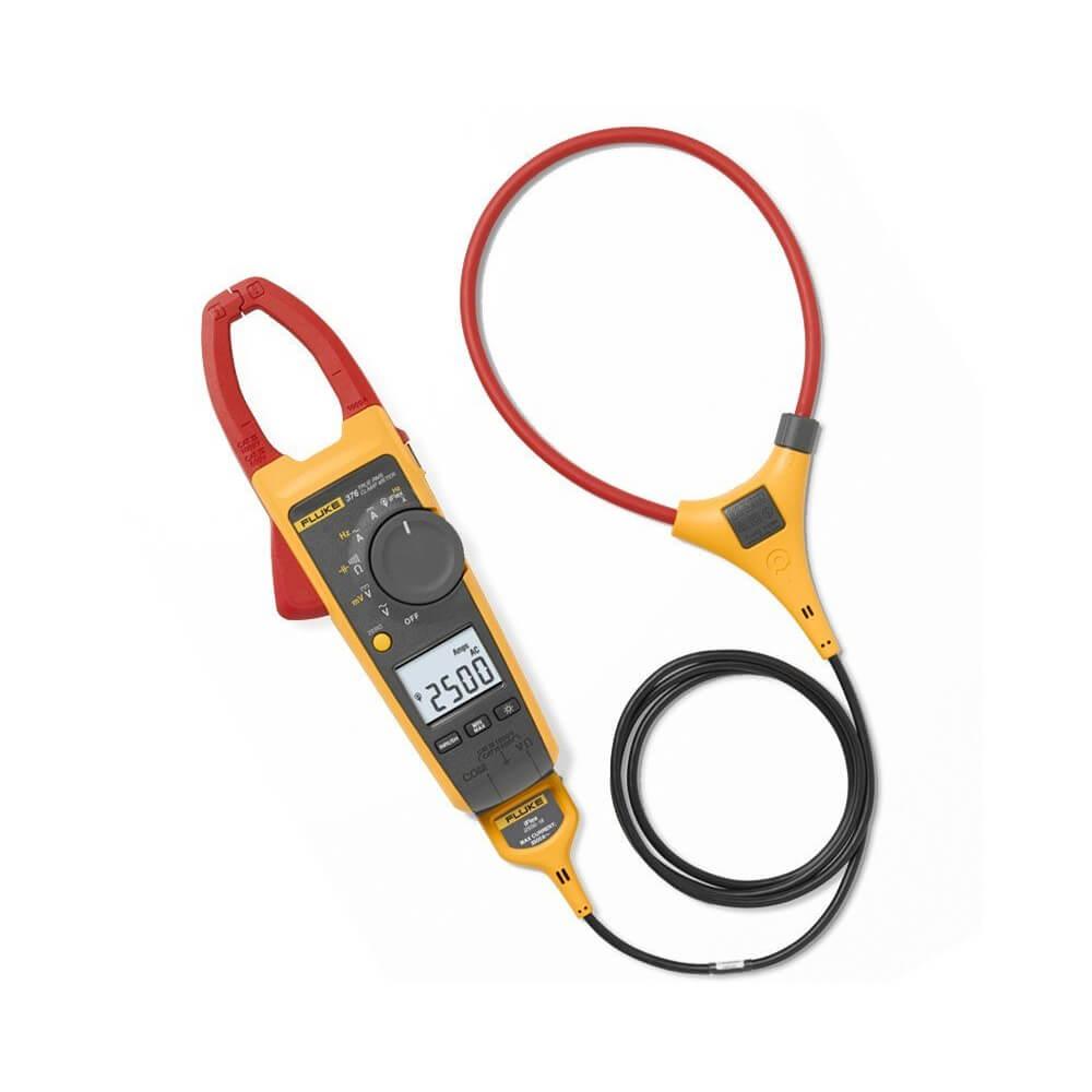 Fluke 376 Clamp Meter Ac Dc : Fluke a true rms ac dc clamp meter with iflex