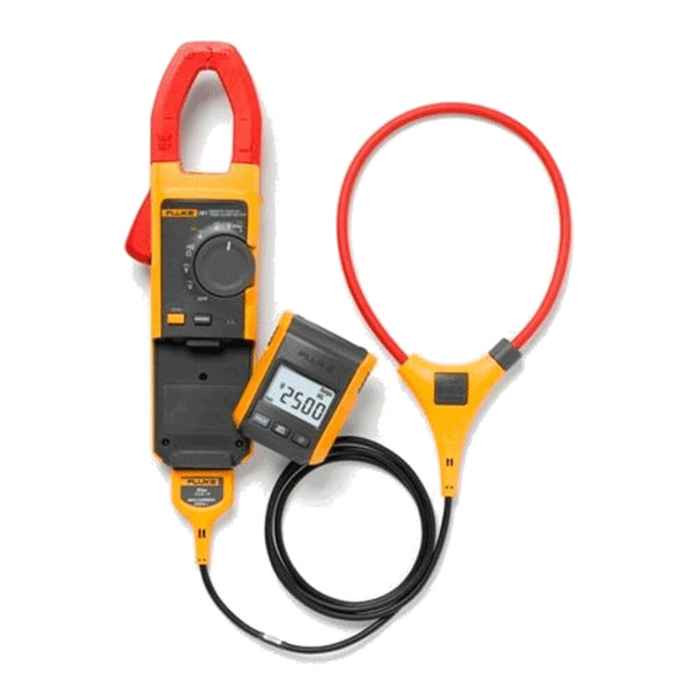 Clamp Meter Accessories : Fluke a true rms clamp meter with iflex