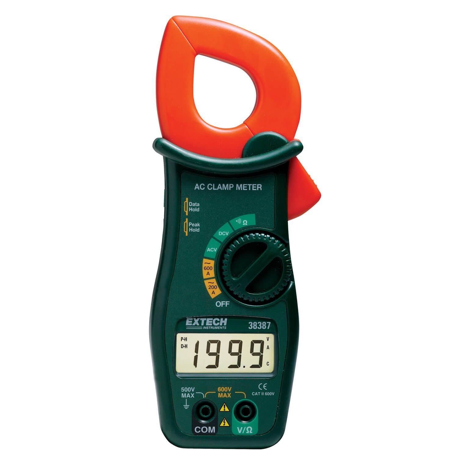 Clamp Meter How Much : Extech a ac clamp meter