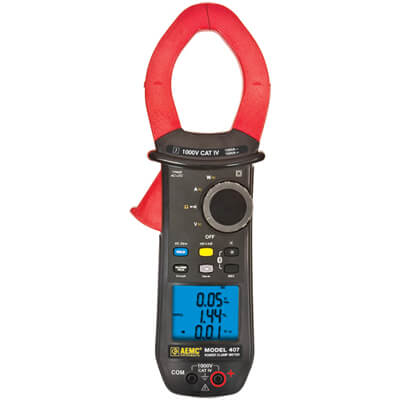 AEMC 407 TRMS Power Clamp Meter