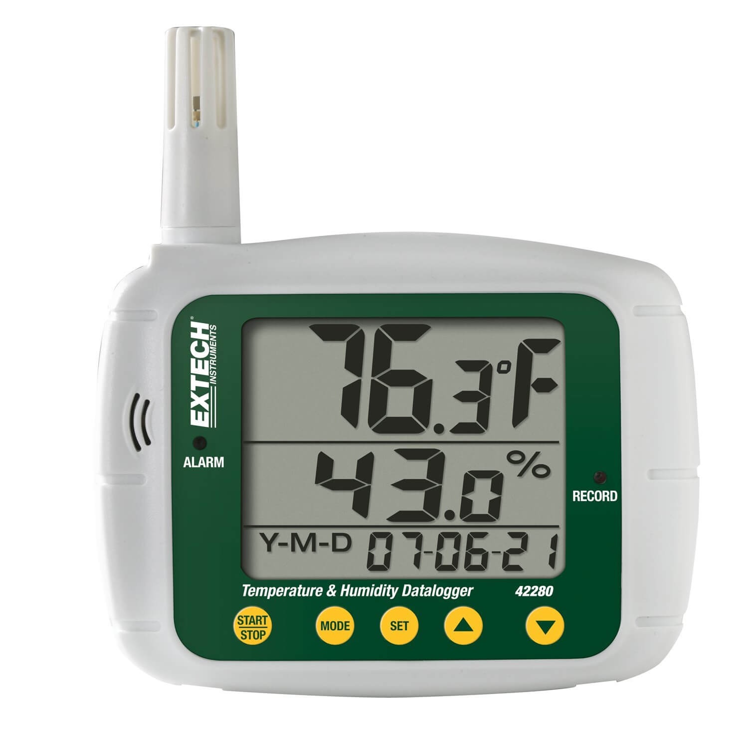 Extech 42280 Datalogger for Temperature and Humidity with LCD Display