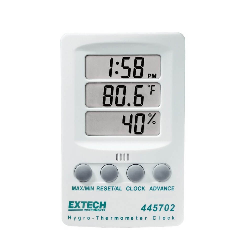 Extech 445702 Hygro Thermometer with Digital Indicator