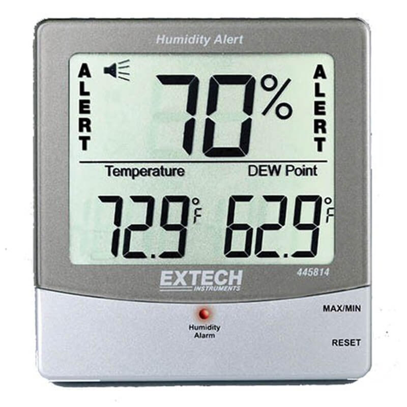 Extech 445814 Digital Electronic Thermometer Hygrometer