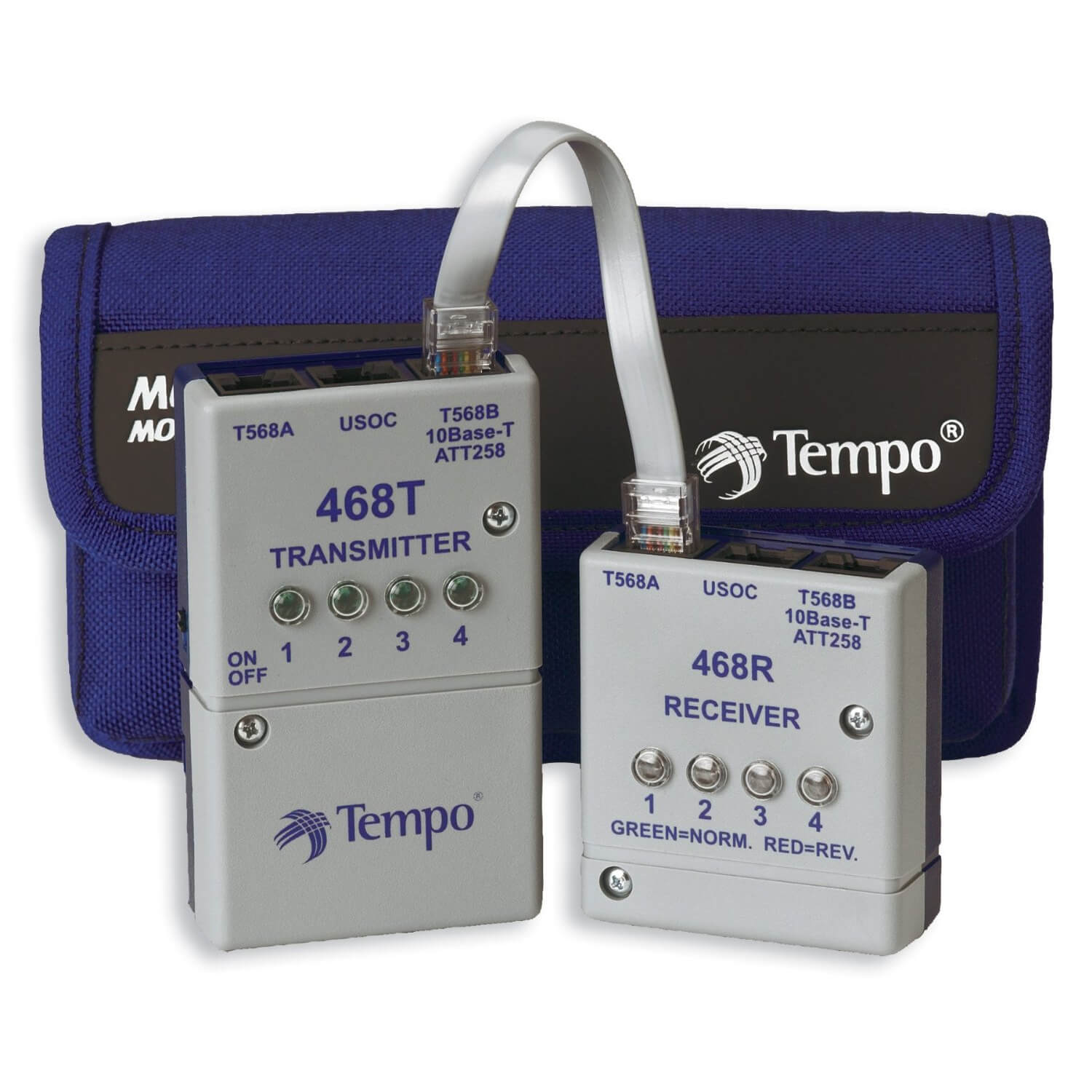 Tempo 468 LAN Network Cable Tester