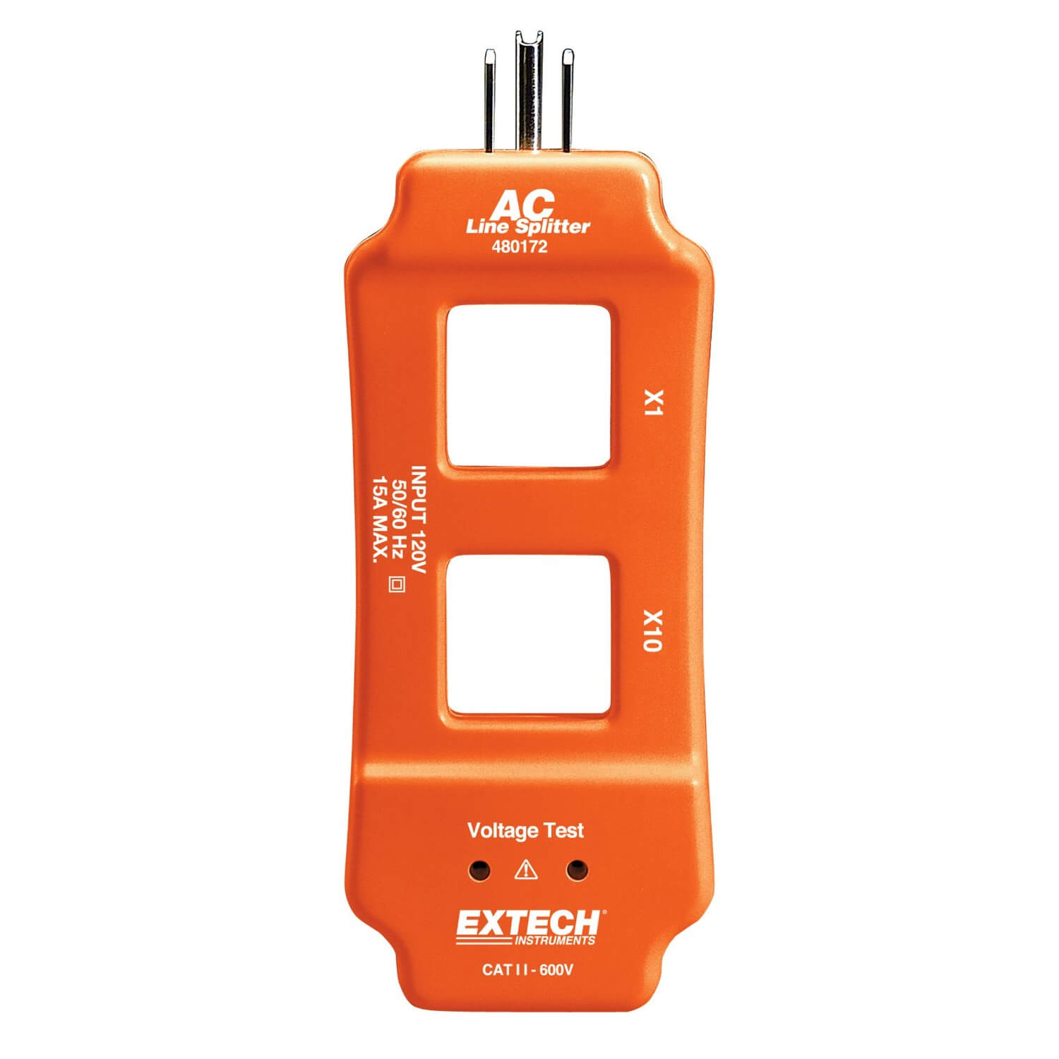 The Best Hvac Clamp Meter : Extech ac line splitter for clamp meters