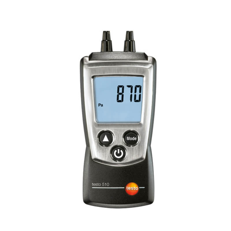 Testo 510 Digital Differential Pressure Manometer