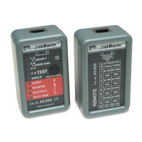 Ideal Industries 62-200 LinkMaster Cable Fault Tester