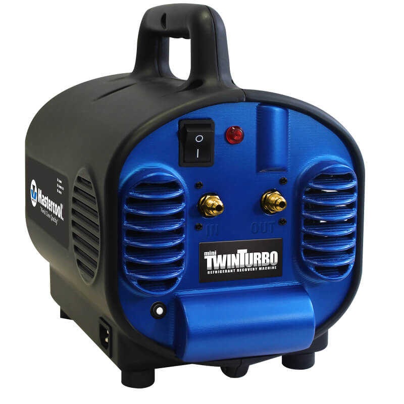 Mastercool 69400 Mini Twin Turbo Refrigerant Recovery Machine Super Light