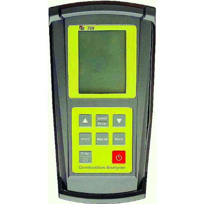 TPI 709 Flue Gas Combustion Analyzer