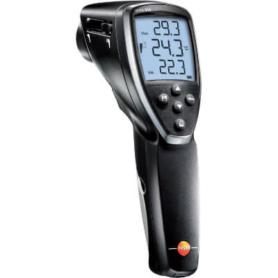 Testo 845 Laser Thermometer with Adjustable Focus