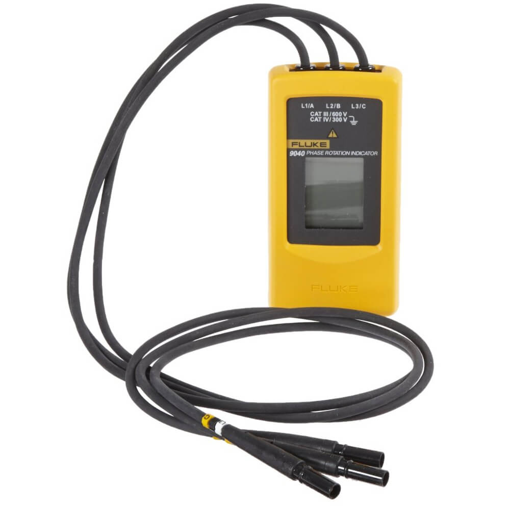 Fluke 9040 Phase Rotation Tester