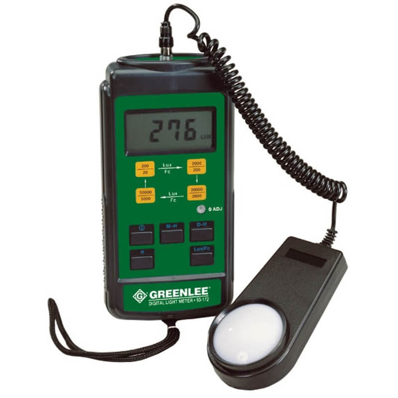 Greenlee 93-172 Handheld Light Meter