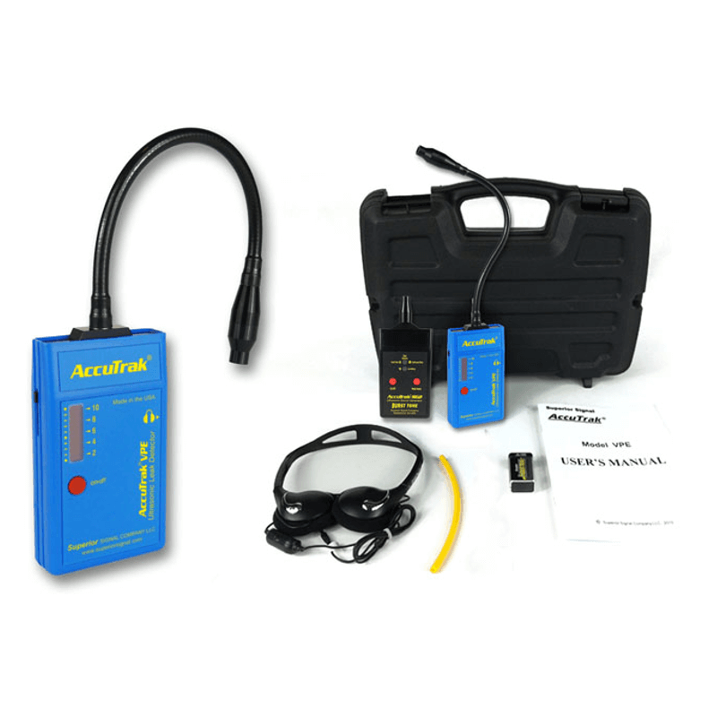 Superior AccuTrak VPE GN Plus Gooseneck Ultrasonic Leak Detector Kit