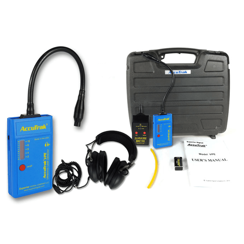 Superior AccuTrak VPE GN Pro Plus Gooseneck Ultrasonic Leak Detector Kit