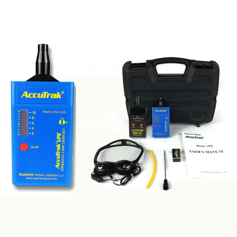 Superior AccuTrak VPE Ultrasonic Plus Kit Leak Detector