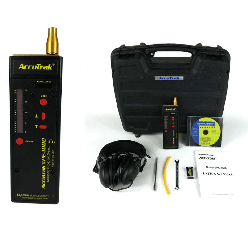 Superior AccuTrak VPE 1000 Digital Ultrasonic Leak Detector