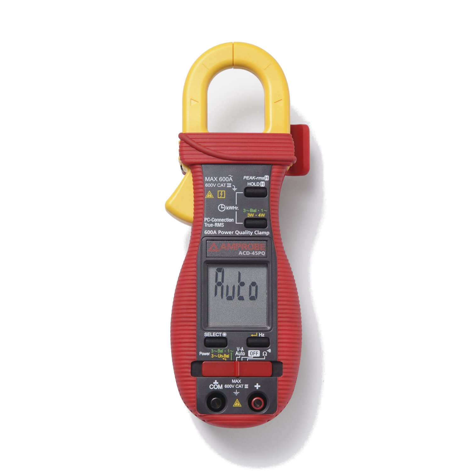 Amprobe ACD-45PQ Clamp-on Power Quality Meter 600A