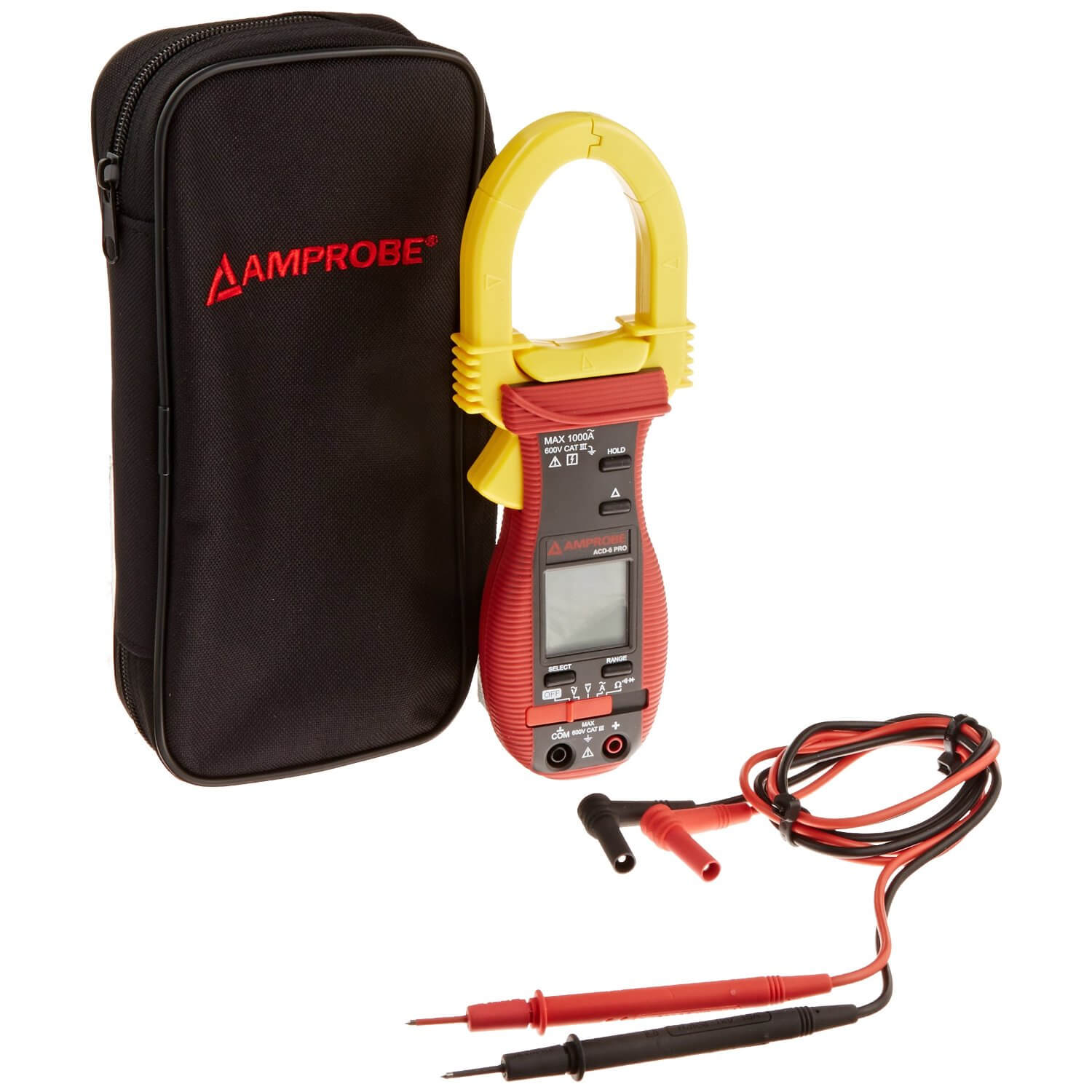 Amprobe ACD-6 TRMS PRO Clamp-on Digital Multimeter 1000A
