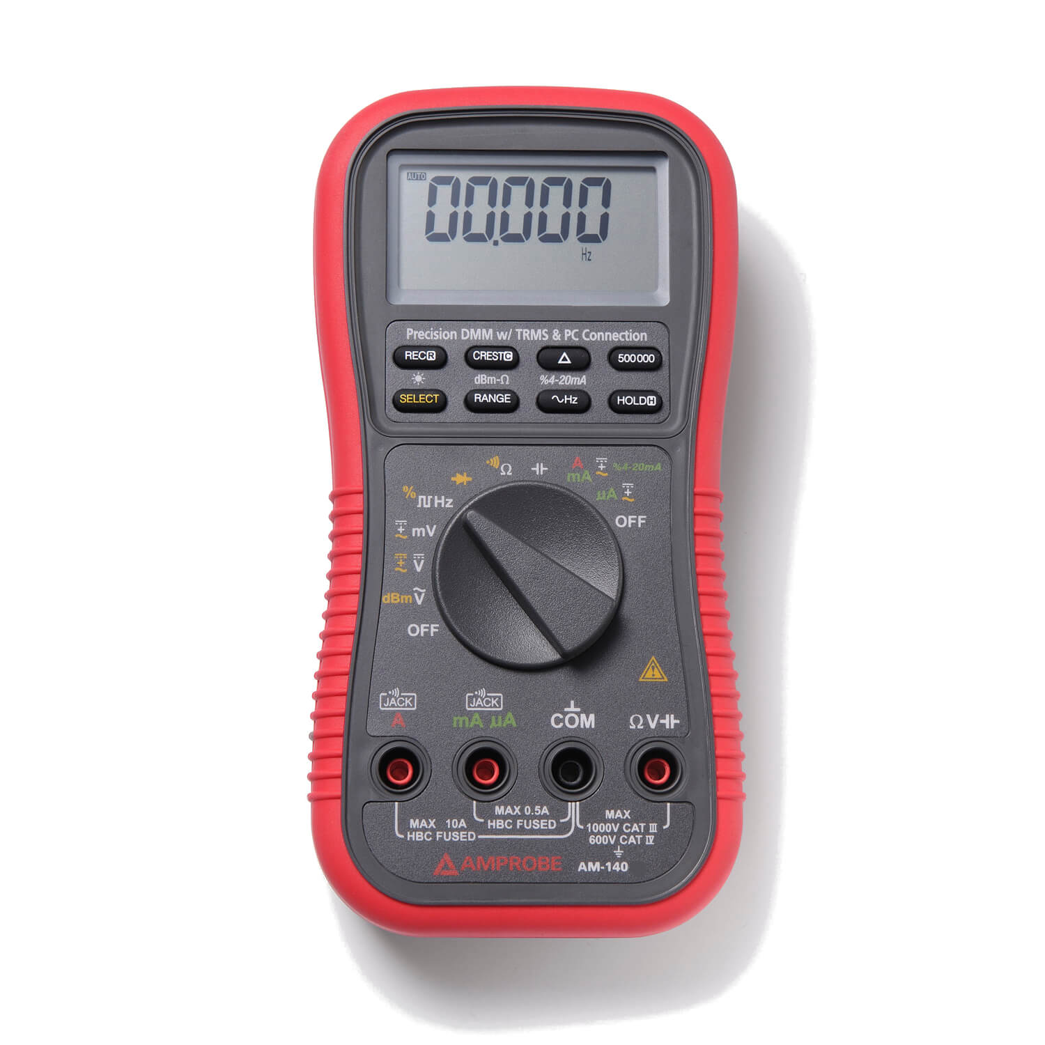 Amprobe AM-140 TRMS Digital Multimeter with Optical PC Interface