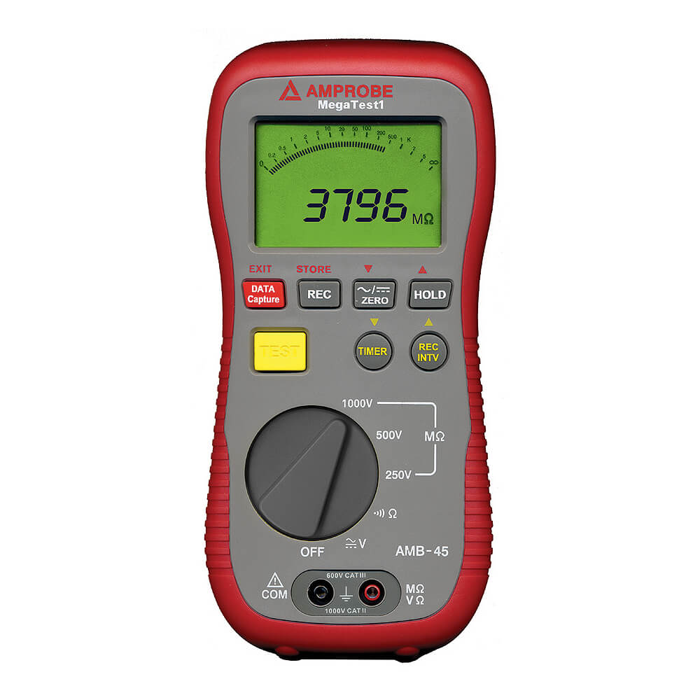 Amprobe AMB-45 MEGATEST 1 Digital Megohmmeter Insulation Meter