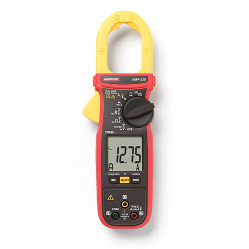 Amprobe AMP-320 TRMS Clamp Meter for Motor Maintenance Technicians
