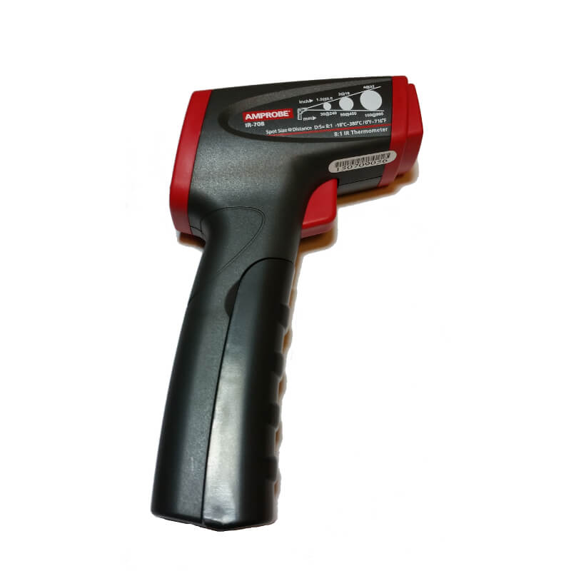 Amprobe IR-708 Infrared Thermometer for HVAC Electrical Industrial Technicians