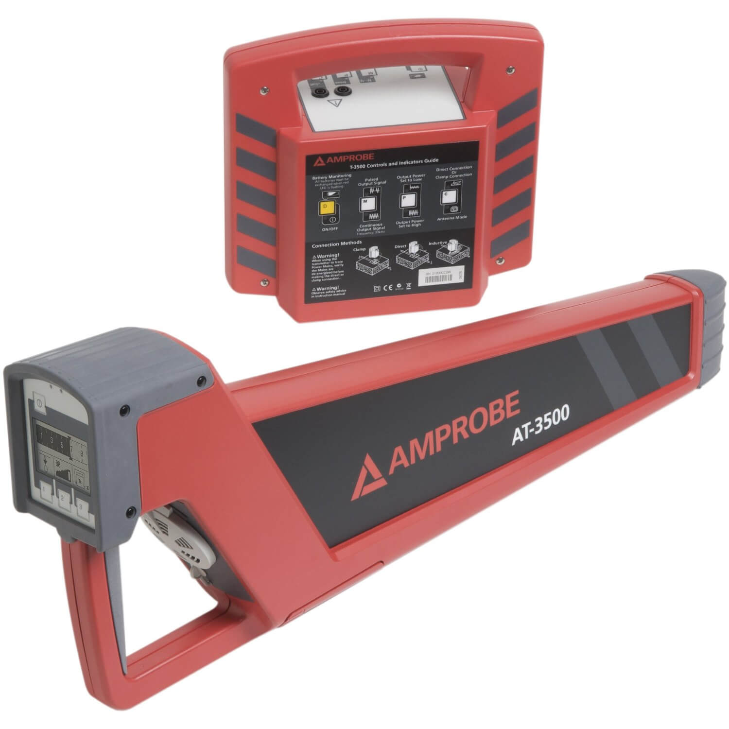 Buried Wire Locator : Amprobe at underground cable locator and pipe