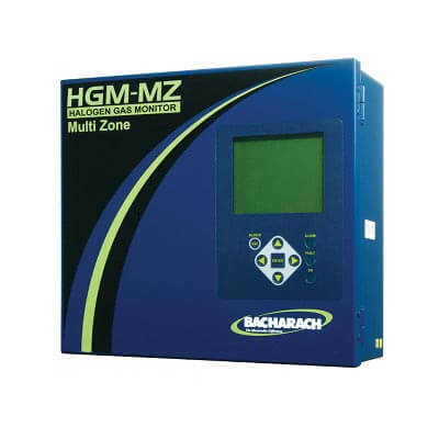 Bacharach HGM-MZ 3015-5045 Multi Zone Refrigerant Gas Monitoring System