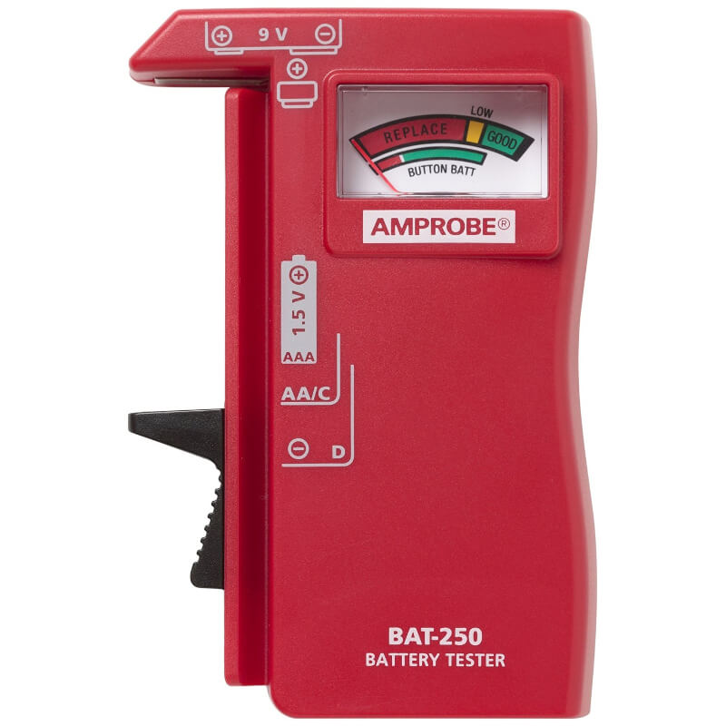 Amprobe BAT-250 Battery Tester Handheld