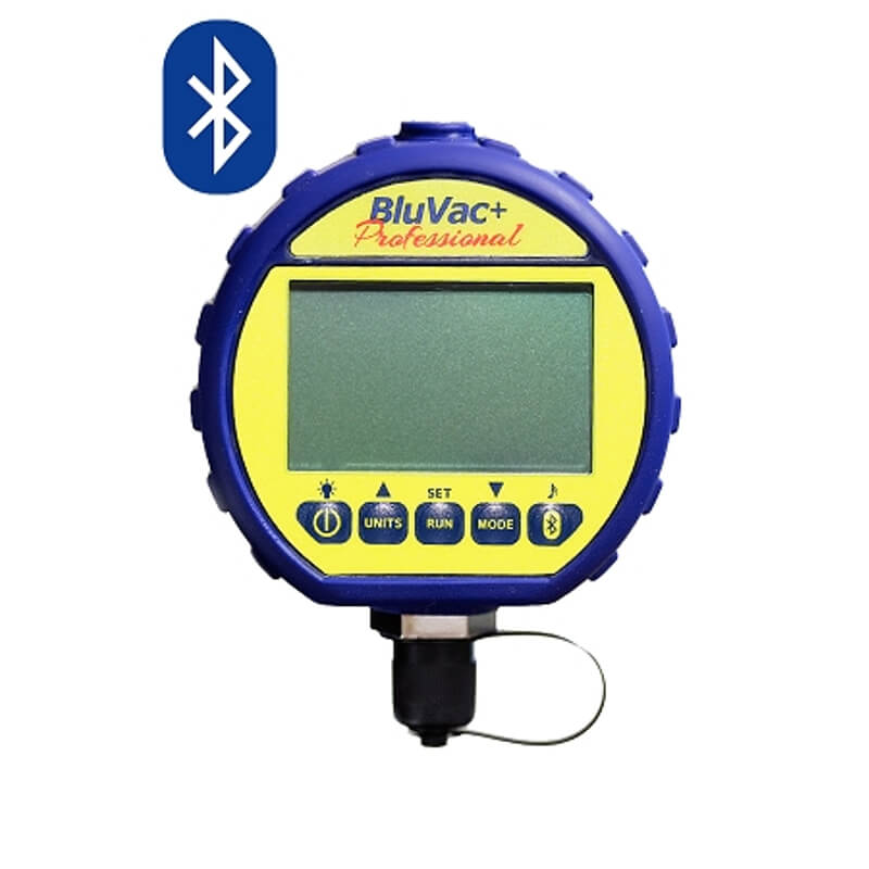 AccuTools BluVac Plus Pro Wireless Digital Vacuum Gauge with iOS and Android App