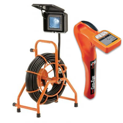 Gen-Eye Mini-Pod SL-GP-D-2 Pipe and Sewer Video Inspection Camera and Locator Kit