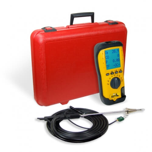 UEi C125 Eagle 2 Combustion Analyzer with Hard Case
