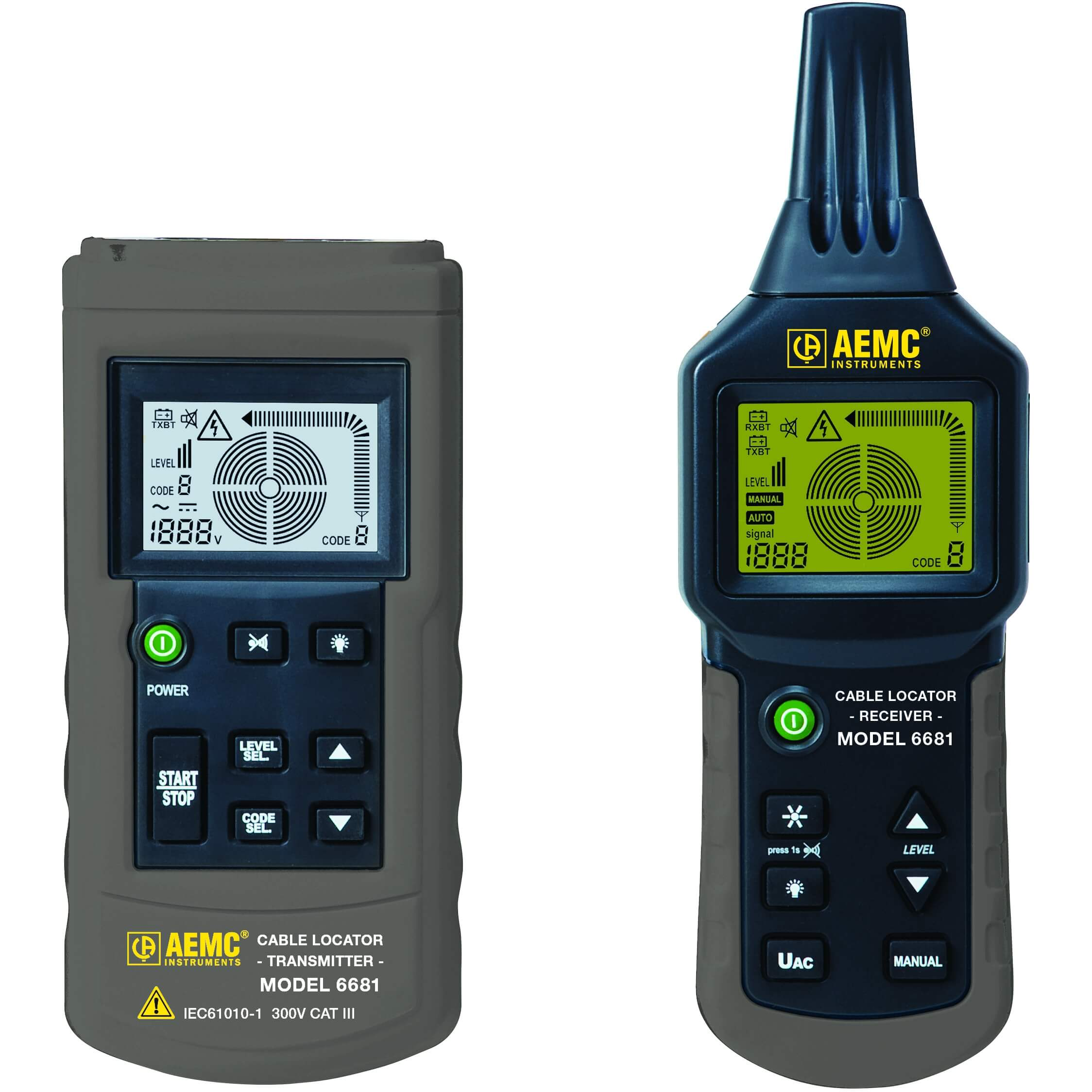 AEMC 6681 Cable Locator and Circuit Tracer