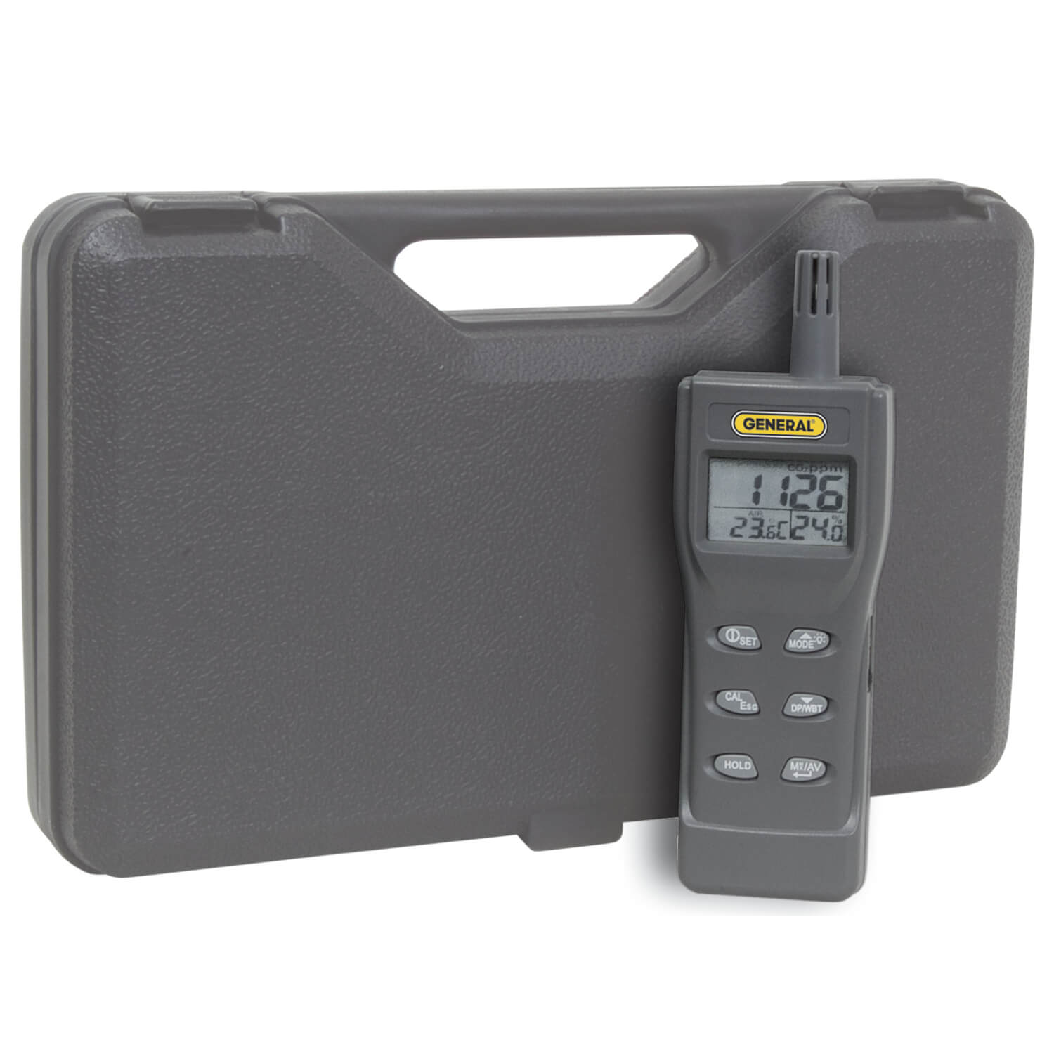 General Tools CDM77535 Digital Environmental Air Quality Meter