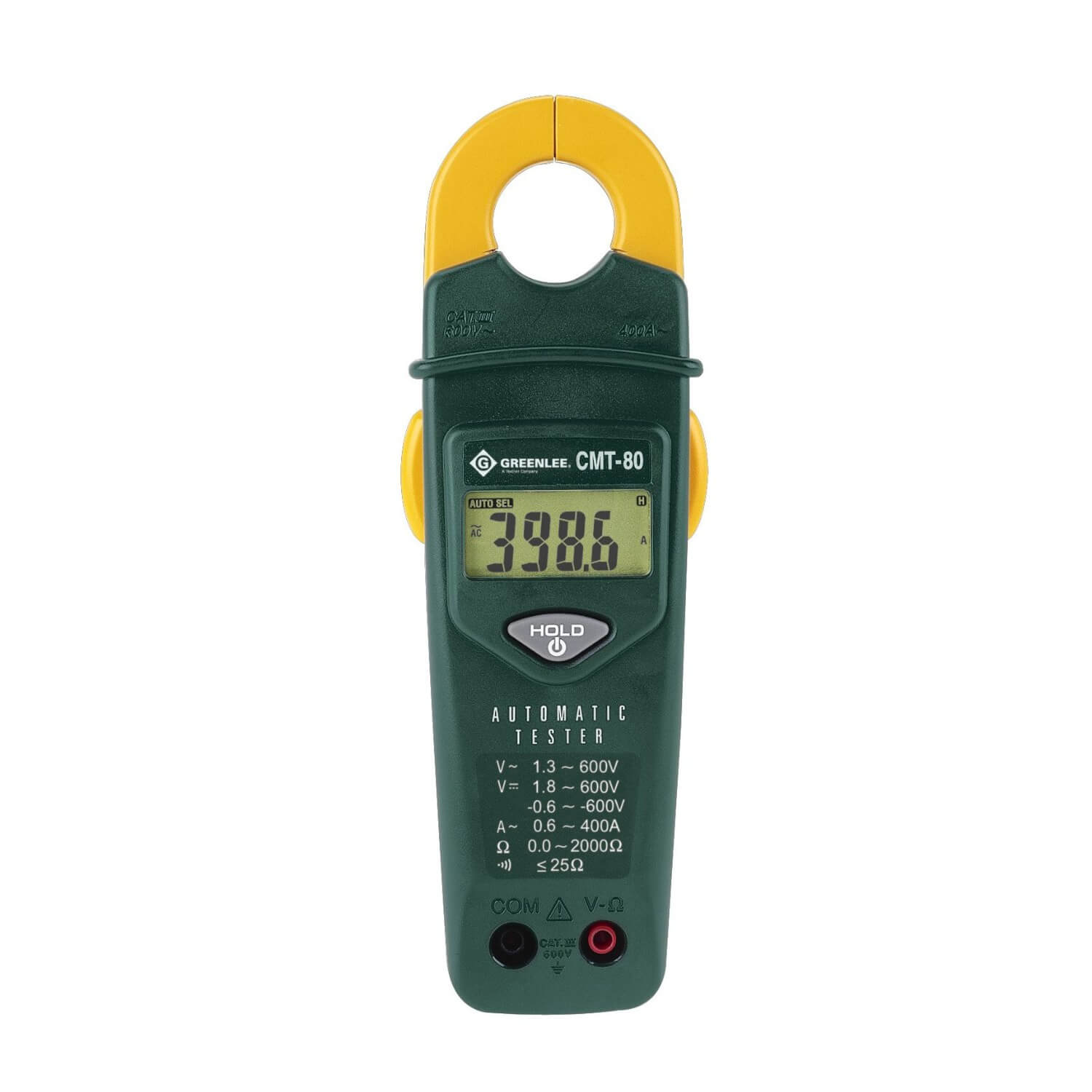 Greenlee CMT-80 Automatic Electrical Clamp Tester