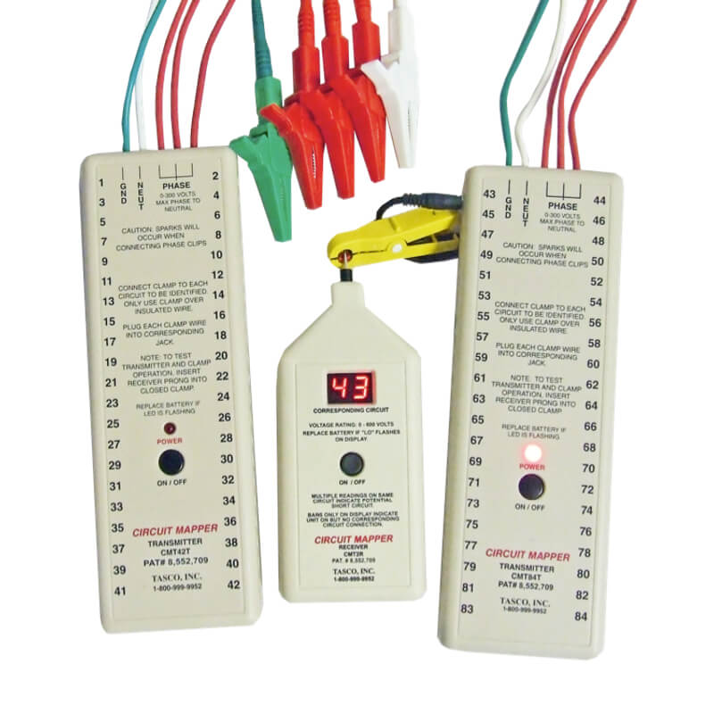 Tasco CMT84DS Circuit Mapper Electrical Line Identifier System