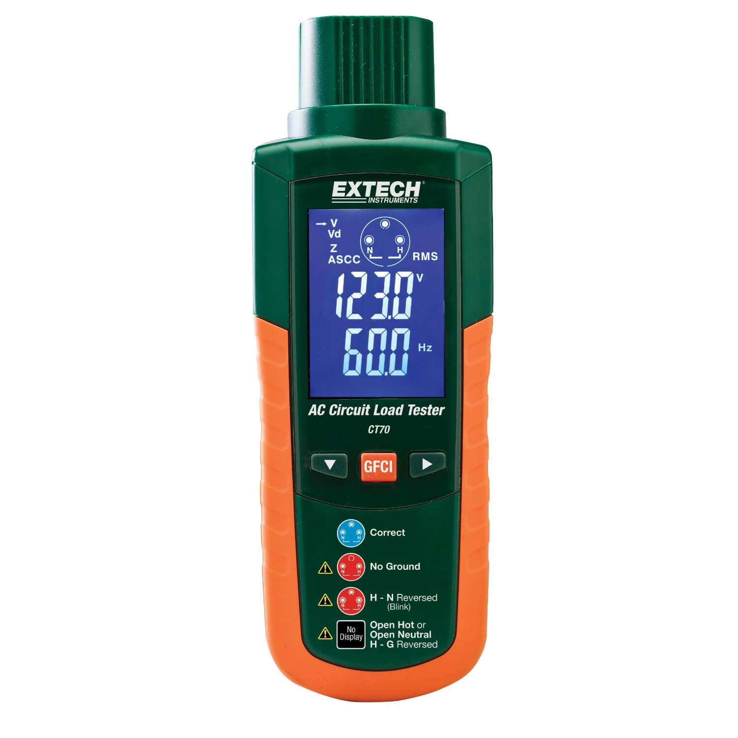 Extech CT70 Tester for AC Circuit Loads